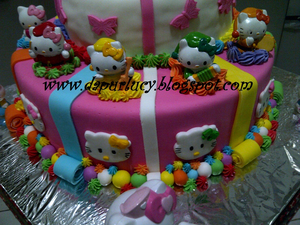 Dapur Lucy Hello Kitty Cake For Callista