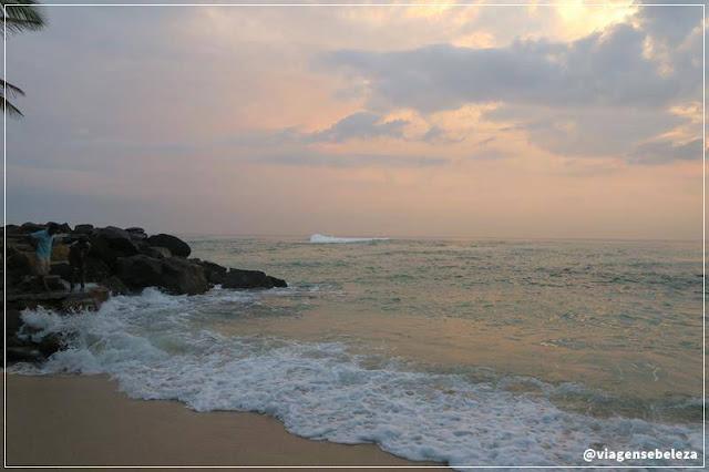 Unawatuna Beach no sri lanka