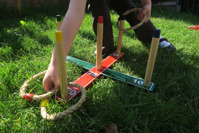 garden ring toss game