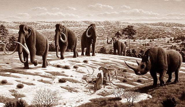 Gambar ilustrasi Zaman Pleistosen