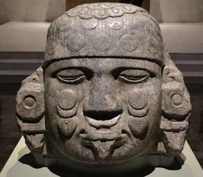 The Aztec have a gruesome history. Art is everywhere.