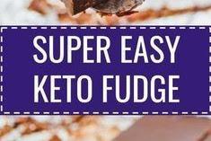 No-bake keto chocolate fudge