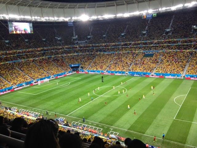 Brasil x Camarões - Estádio Mané Garrincha - Brasília