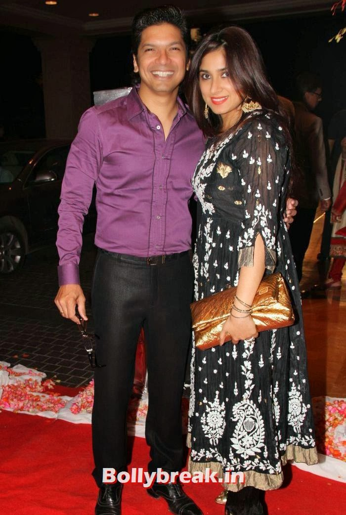 Shaan, Radhika, Siddharth Kannan & Neha Agarwal Wedding Reception Pics