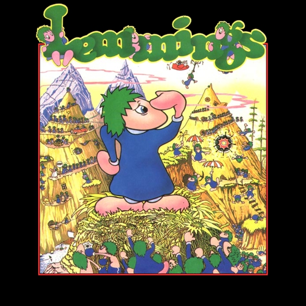 ... do jogo Lemmings