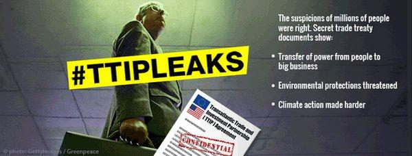 DW: Σάλος με τα μυστικά έγγραφα της TTIP