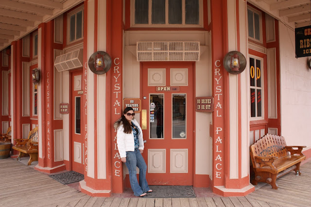 Fab Everyday Travel - What to do in Tombstone, AZ: Crystal Palace Saloon