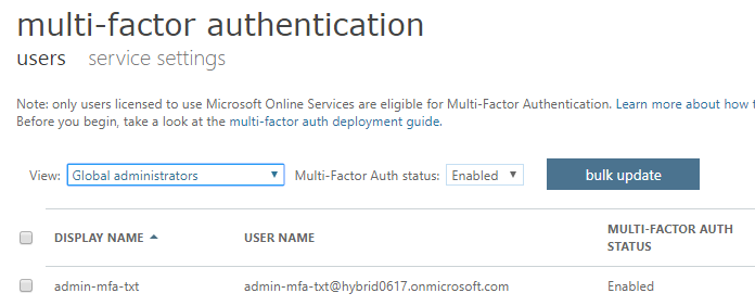 365 Admin: How to protect your Office 365 MFA admin account