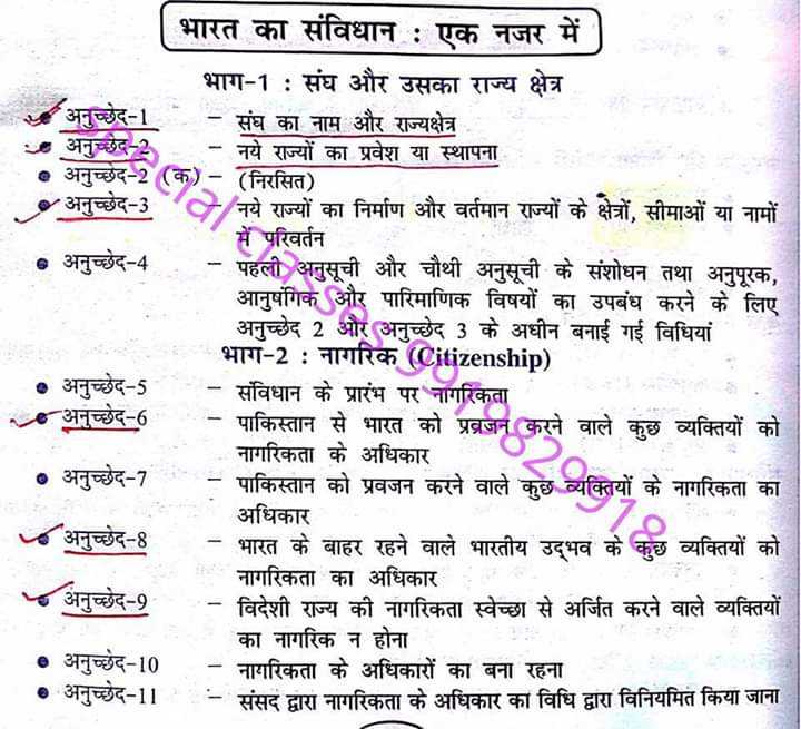 Indian Constitution Introduction Notes   Download for
