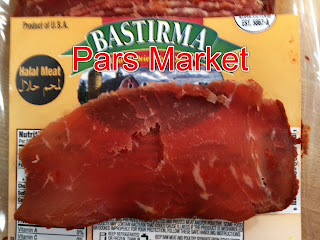 Pastirma / Bastirma at Pars Market in Columbia Maryland 21045