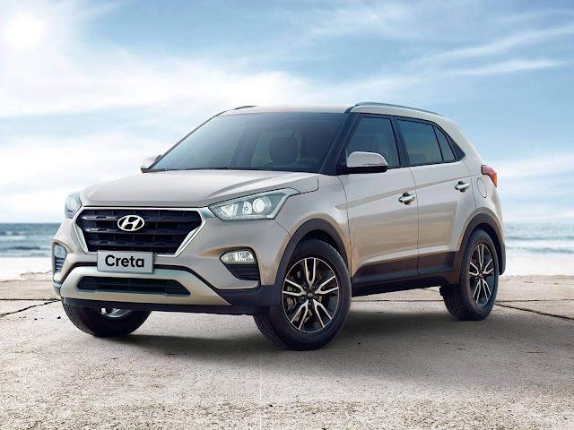 Hyundai Creta 2018 Pulse 1.6 Automática