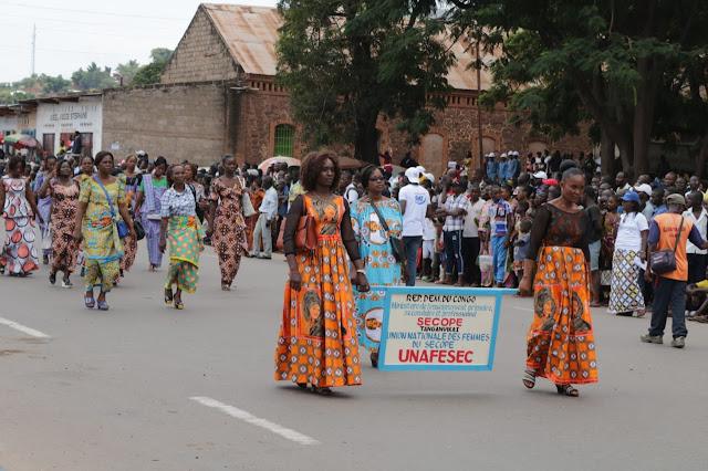 23 Personel FET Konga XXXIX-A Ikuti Peringatan IWD di Republik Demokratik Kongo