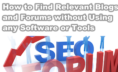 How to Find Relevant Blogs and Forums