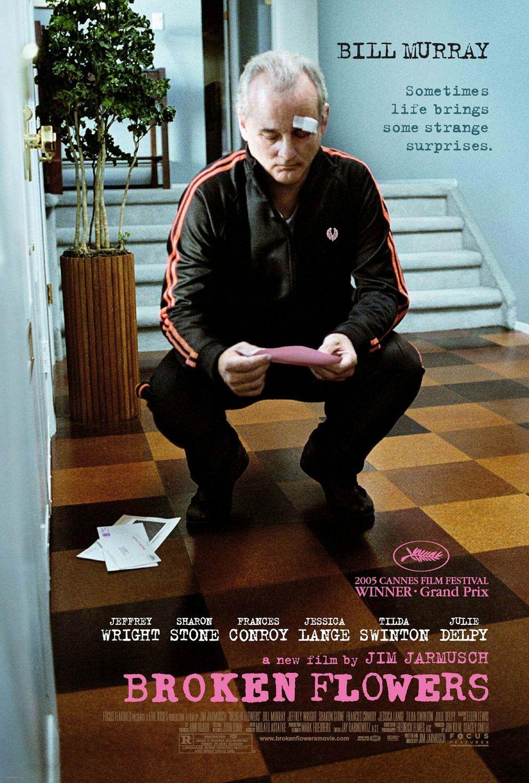 broken flowers film recenzja jim jarmush bill murray sharon stone
