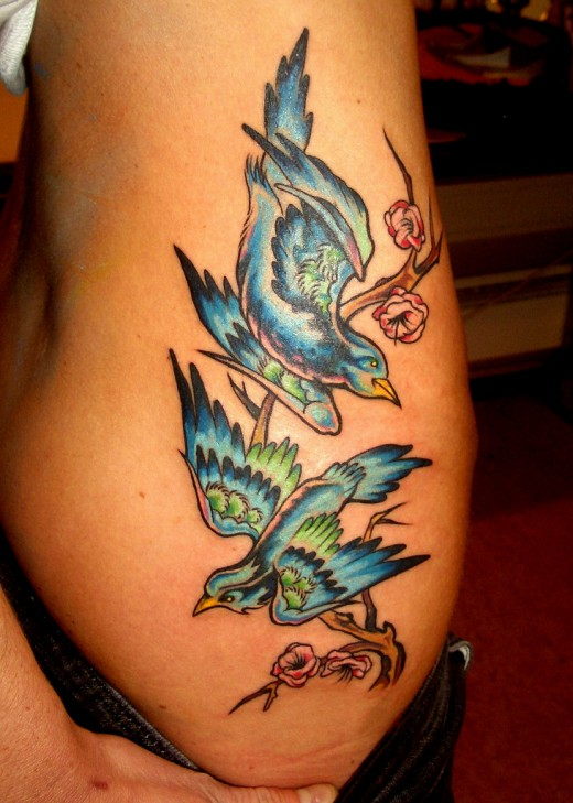 tattoo on the ribs - photo #31