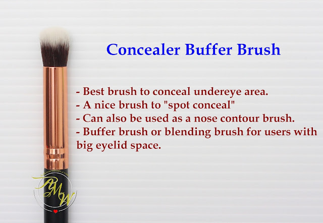 a photo of Riot Concealer Buffer Brush