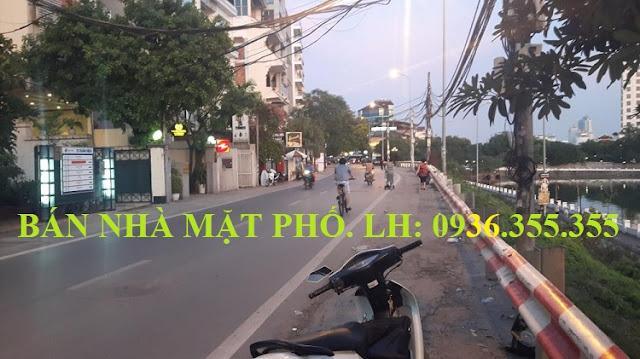 Bán nhà mặt phố Xuân Diệu, Tô Ngọc Vân