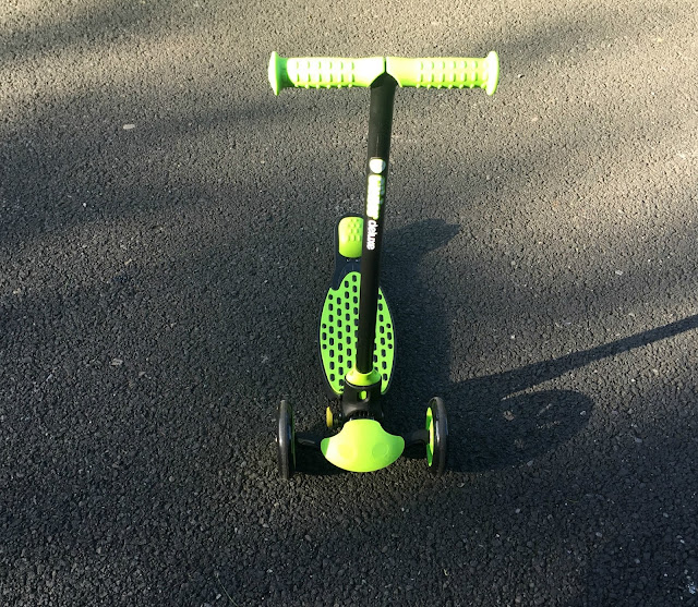 Yvolution Y Glider Refresh Deluxe Child Scooter Review