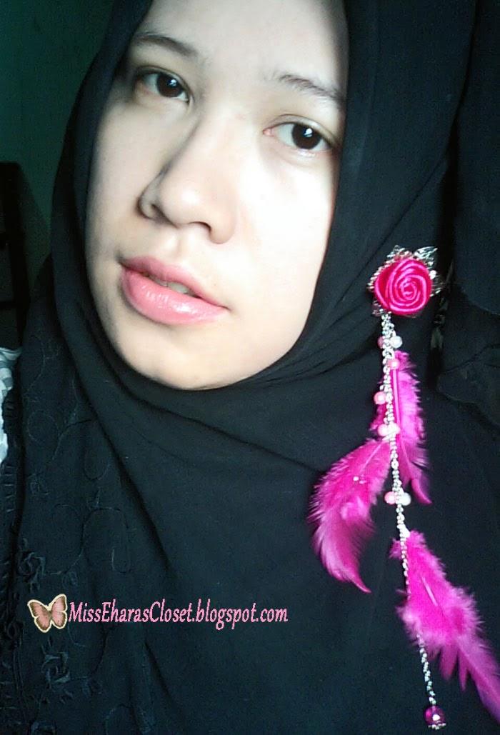 FOTD pink hijab hijabers