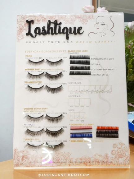 lastique eyelash extension