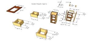 Diseño gavetero