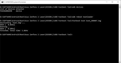 Root Asus Zenfone 2 Laser ZE550KL dan Unlock Bootloader