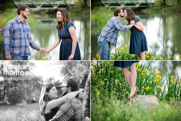 A Walk in Eschbach Park - Yakima Engagement || Heather + Luke