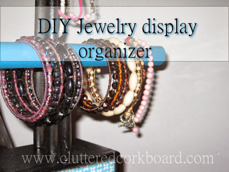 DIY a Jewelry Organizer.. a simple how to