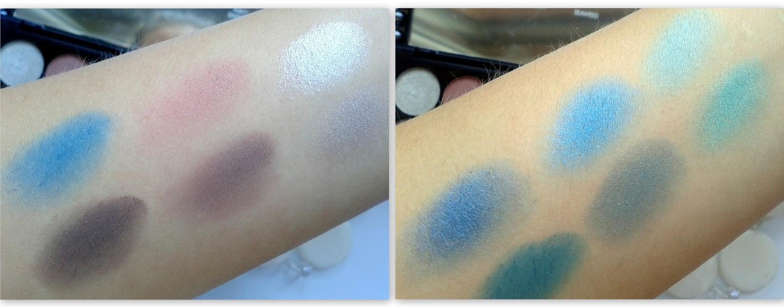 Paleta cieni  LIMITED EDITION  CALM BEFORE THE STORM swatch