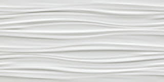 White body wall tiles 3D Wall Design Ribbon White