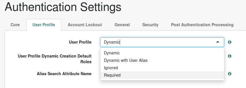 Dynamic Profiles in OpenAM 13 - ForgeRock Forum and Blog