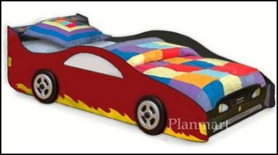 Car Bed Plans for Boys