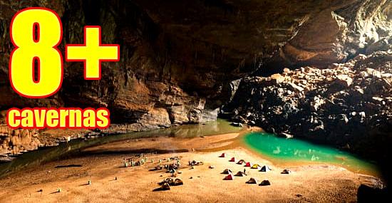 As 8 cavernas mais lindas e perigosas do mundo - Capa