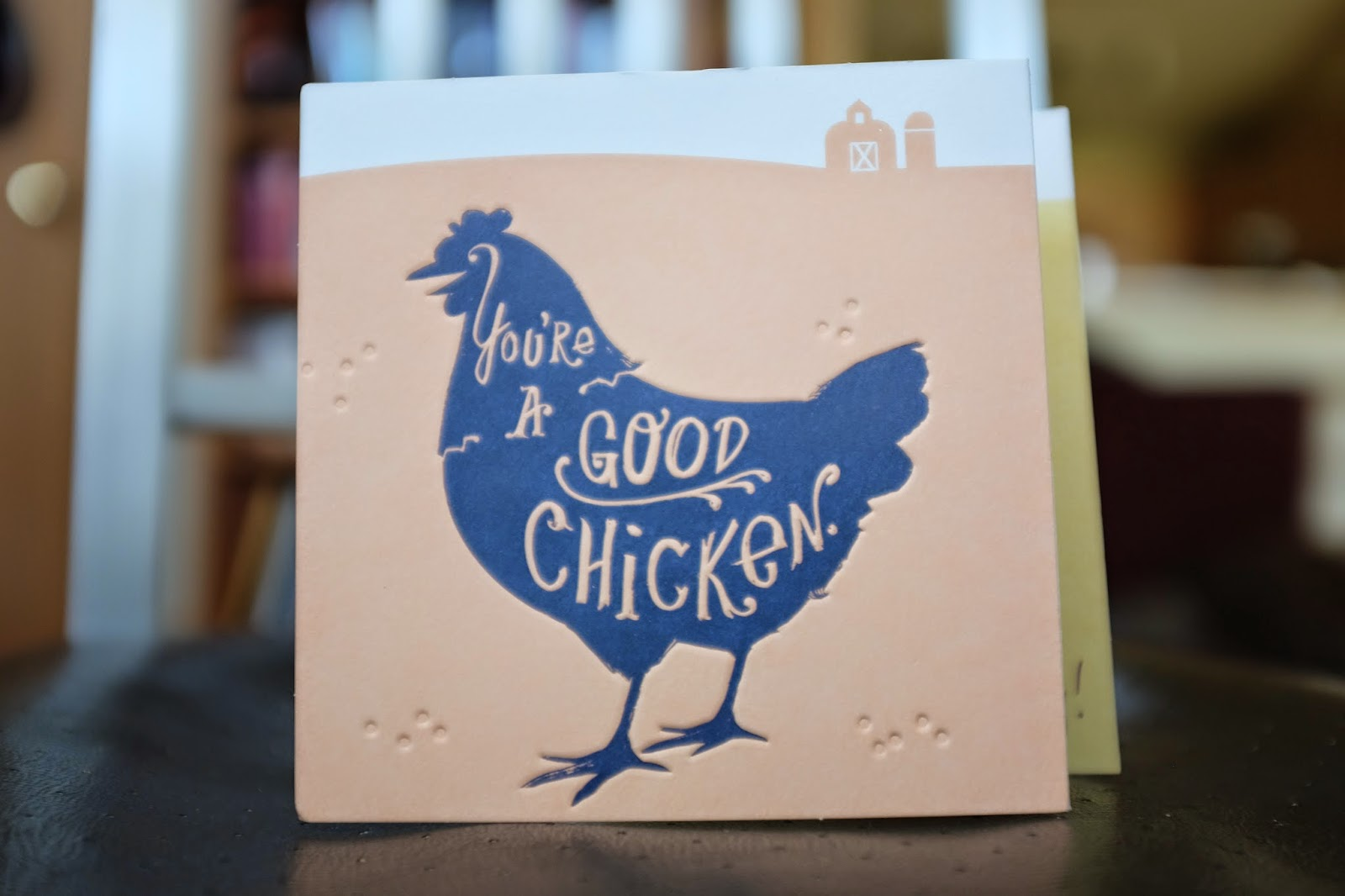 The Time for Change: 1 19 My Best Friend - You're a Good Chicken