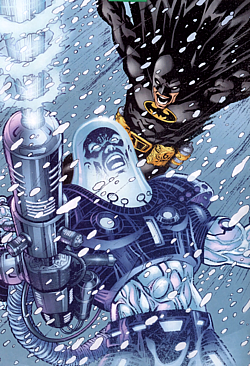 Batman The Dark Knight vs Mr Freeze Dr Victor Fries DC Comics