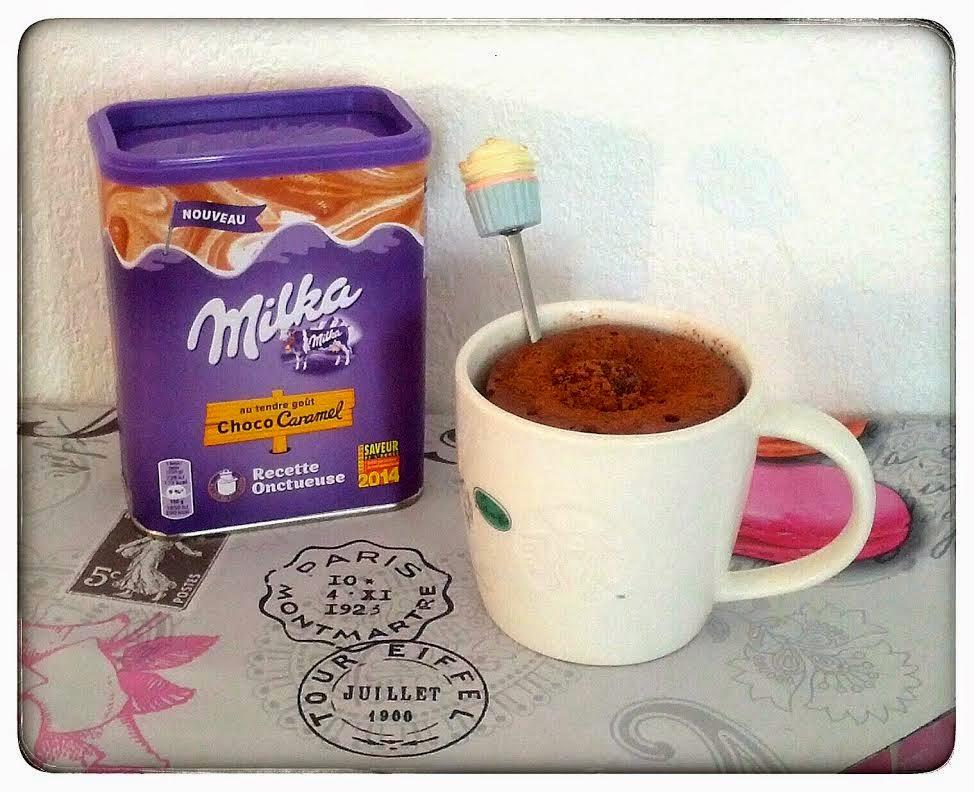 Mug Cake Milka