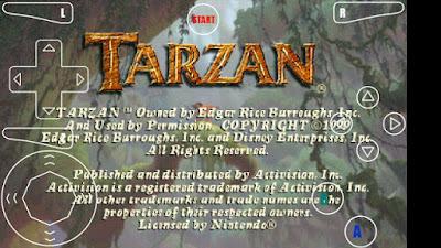 تحميل لعبة طرزان Tarzan للاندرويد والايفون