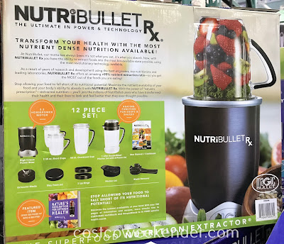 Eat healthier and live better with the NutriBullet Rx