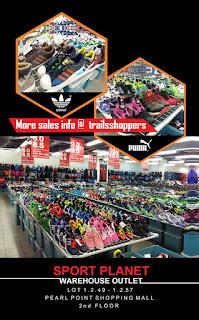 Sport Planet Warehouse Outlet Sale
