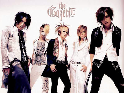 Band Rock Jepang - The Gazette
