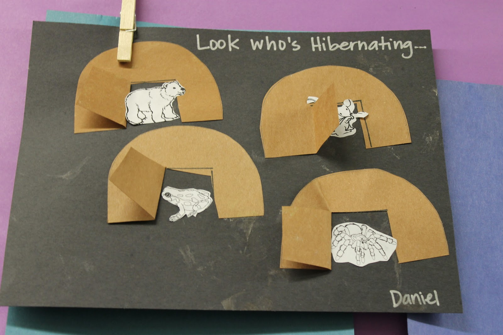 Hibernating Animals Preschool