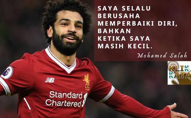 Kata Kata Hebat Penuh Motivasi Dari Mohamed Salah