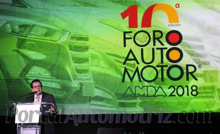 Al inaugurar la décima edición del Foro Automotor, Prieto Treviño expuso los temas que conforman la estrategia de la asociación de cara al nuevo gobierno. (Foto: Portal Automotriz)