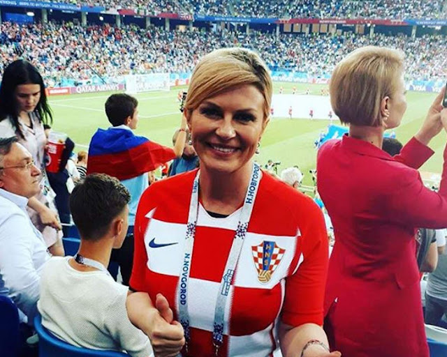 presedintele croatiei la cupa mondiala 2018