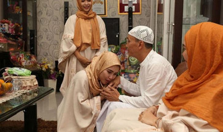 Netizen Kecam Ayu Ting Ting Cium Mulut Ayah Di Pagi Raya, Ini Jawapannya...