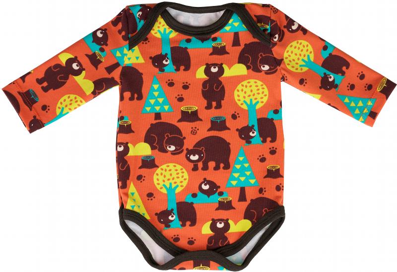 45c359d145123 Patron et instructions de couture gratuits   body manches longues pour bébé