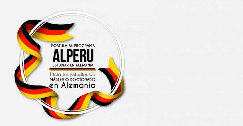 Convocatoria para becas de Doctorado y Máster del Programa «ALPERU: Estudiar en Alemania»