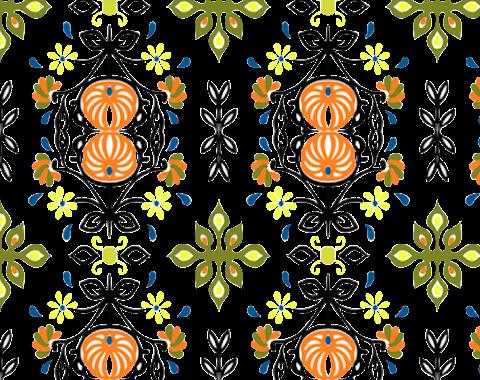 Textile Design Pattern Art PNG 2368