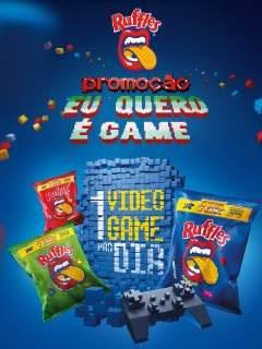 Cadastrar Promoção Ruffles Eu Quero É Game 1 Vídeo-Game PS4 Por Dia
