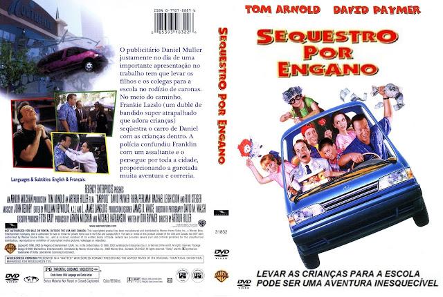 Capa DVD Sequestro Por Engano